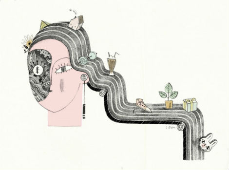 julianna brion, illustration