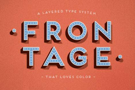 frontage font
