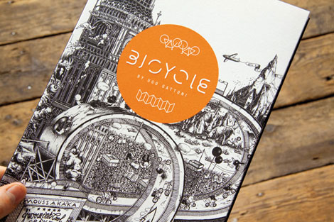 received bicycle3 Bicycle (Leporello) by Ugo Gattoni
