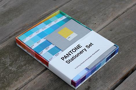 pantone stationery