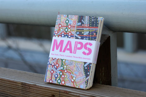 maps notebooks