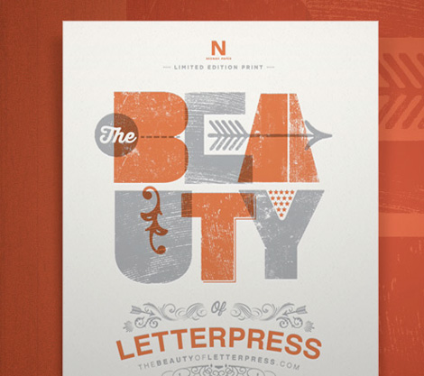 beauty of letterpress