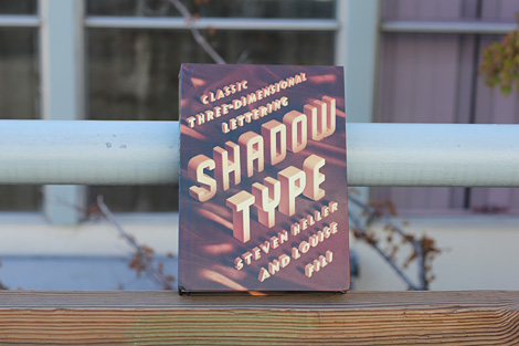 Shadow Type Book via grain edit