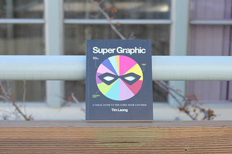 Super graphic book via grain edit