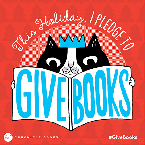 #givebooks