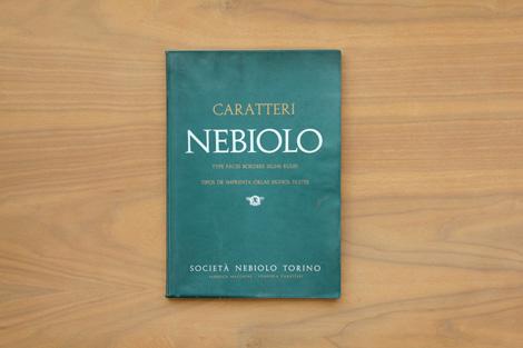 Caratteri Nebiolo via #graineditshop