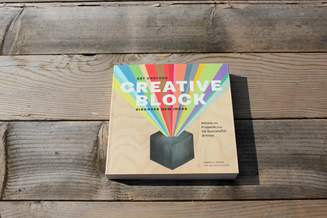 Creative Block Book via grainedit.com