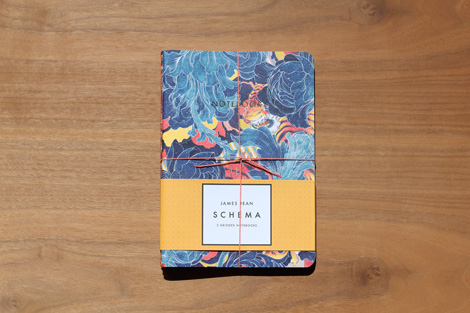 James Jean notebooks on grainedit.com