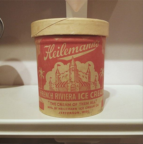 Heilemanns ice cream on grainedit.com