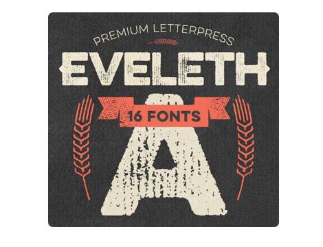 Eveleth font