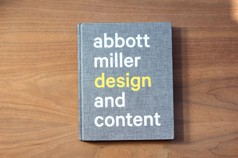 Abbott Miller Design and Content