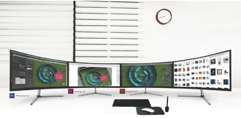 LG 34uc97 Curved Ultrawide display