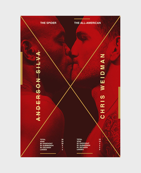 MMA posters by Bogdan Kociuba