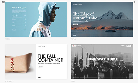 Squarespace Coverpages