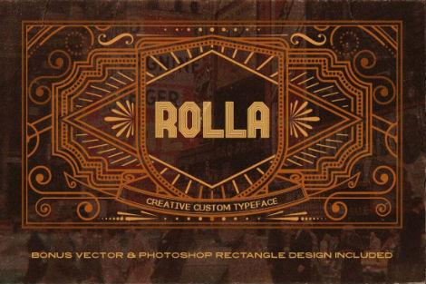 rolla font