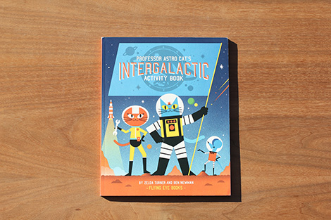 Professor Astro Cats Interglactic Activity Book